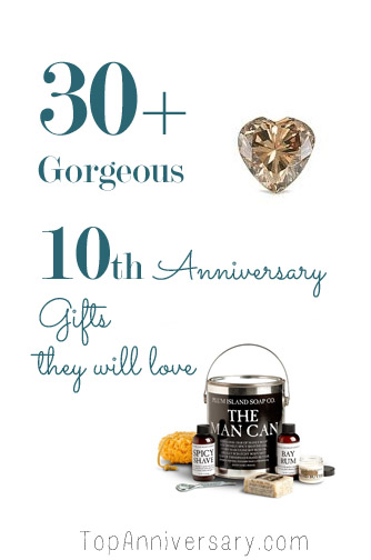 10th anniversary gift ideas