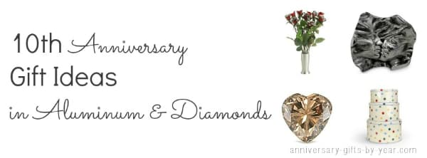 Tin Wedding Anniversary Gift: Ten Year Wedding Anniversary Guide From Tin To Diamonds