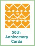 50th wedding anniversary cards