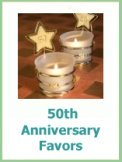 50th anniversary party favors