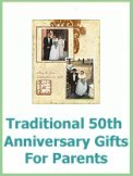 Gift Ideas For 50th Wedding Anniversary For Friends : Fabulous 50th Wedding Anniversary Gift And Party Ideas