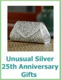 silver wedding anniversary present