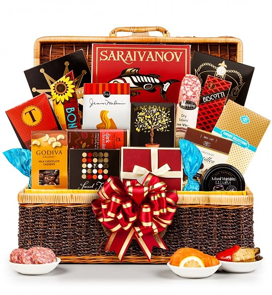 40th anniversary gift basket
