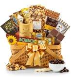 golden anniversary gift basket for grandparents