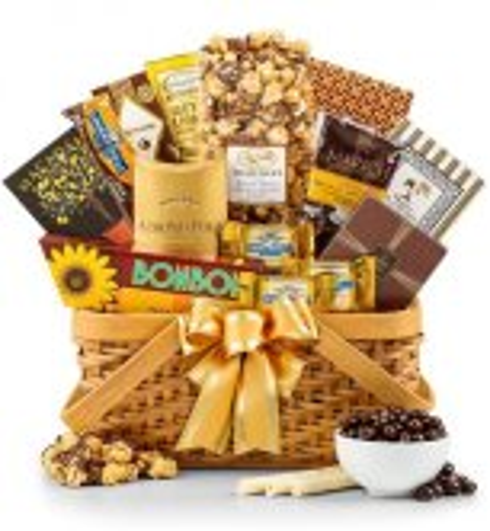 50th anniversary gift baskets