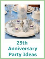 25th anniversary party ideas