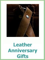 third wedding anniversary gift ideas in leather