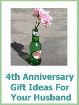 Wedding Gifts For 4th Anniversary : husband 4th wedding anniversary gift ideas