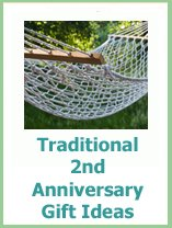 traditional 2nd anniversary gift ideas