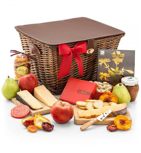 Cheese Anniversary gift basket