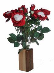 cotton anniversary roses