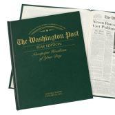 personalized anniversary newspaper book