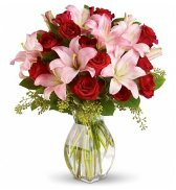Valentines Day love bouquet
