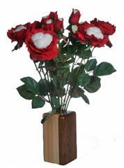 2nd anniversary cotton roses for your wife