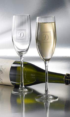 engraved toasting glasses