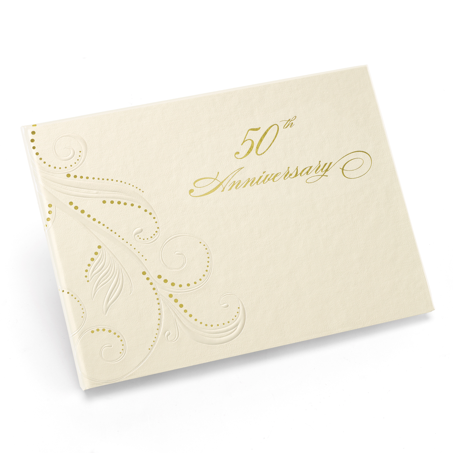 50th anniversary guestbook
