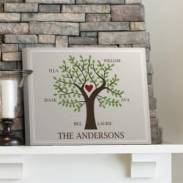 family tree canvas