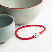 personalized ladies leather bracelet
