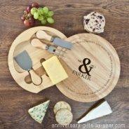 wooden anniversary cheeseboard