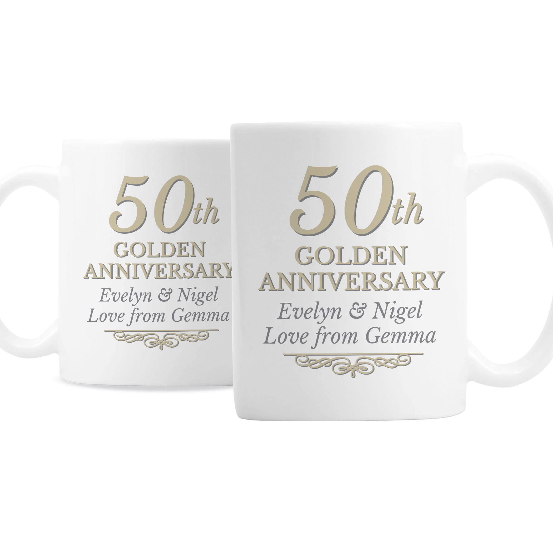 personalized family tree anniversary coffee mug