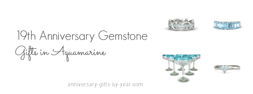 19th anniversary gift ideas