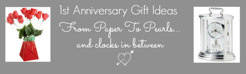 1st wedding anniversary gift ideas