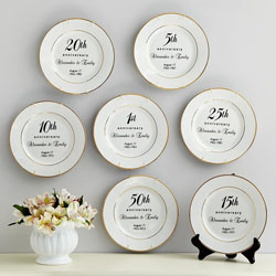 20th anniversary platter for your parents