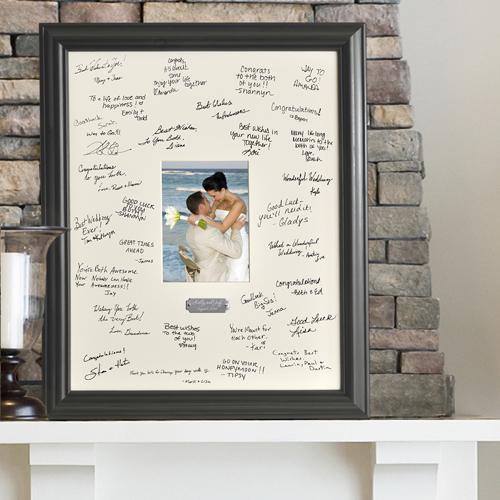 Anniversary signed frame