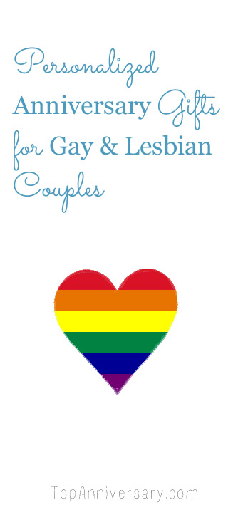 lgbt anniversary gifts for gay and lesbian couples