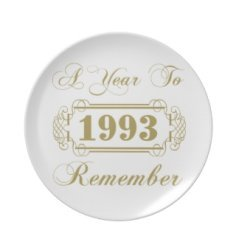 20th anniversary personalized plate