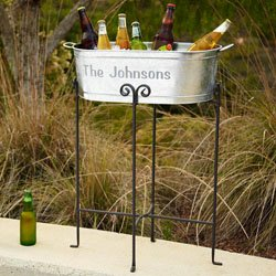 beverage tub 10th anniversary gift for your husband