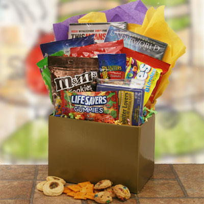 movie lovers gift basket