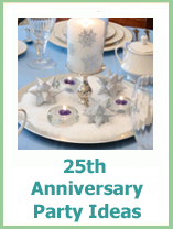 25th anniversary party ideas for parents