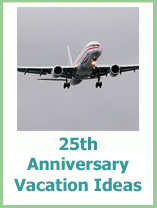 25th anniversary vacation