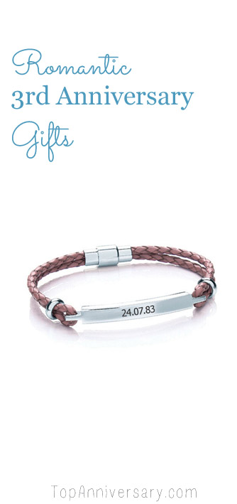 romantic 3rd anniversary gifts for girls