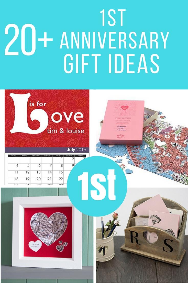 1st wedding anniversary gift ideas