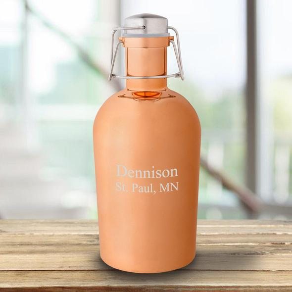 personalized copper mug