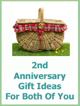 2nd anniversary gifts for couples