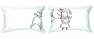 fun couple pillows