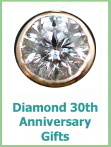 dimaond 30th anniversary gifts