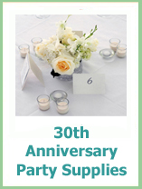 30th anniversary party ideas