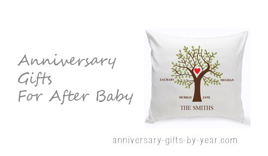 anniversary gifts after baby