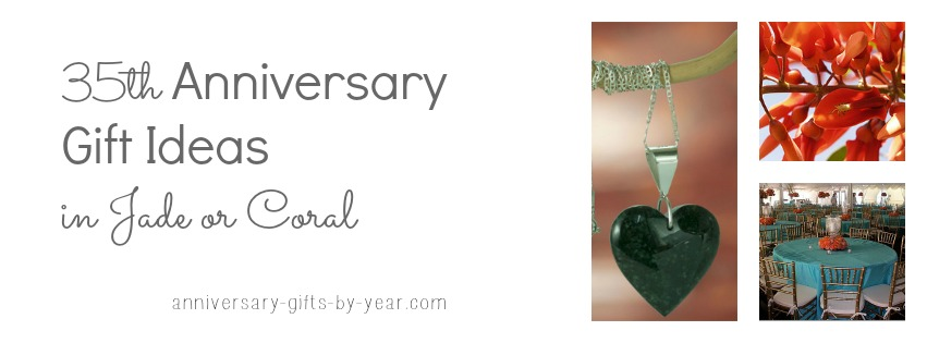 anniversary gifts 35th 35th wedding anniversary gifts guide