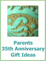 35th anniversary ideas for your parents