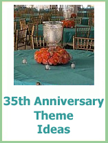 35th wedding anniversary themes
