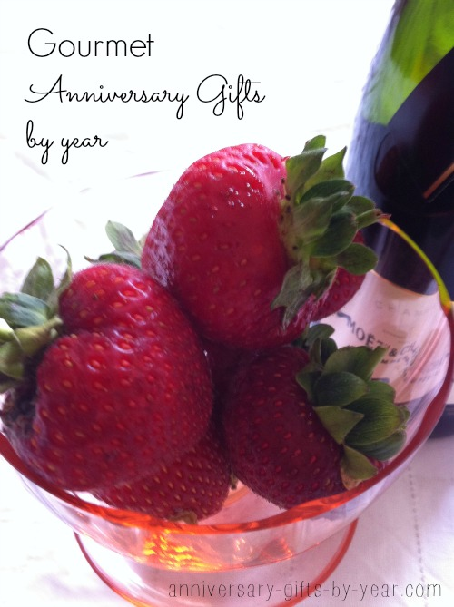 foodie gifts by anniversary year