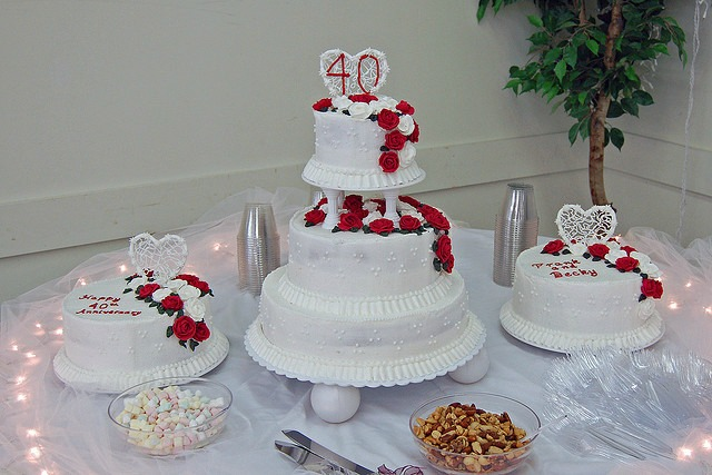 Fabulous 40th Wedding Anniversary Party Ideas