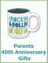 40th anniversary gifts for parents