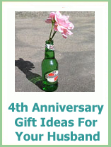 4th anniversary gift ideas for your husband
