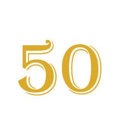 free printable 50th anniversary invitation